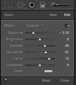 First filter effect
